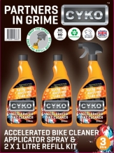 A picture of the best bike cleaner in the UK! In retail version!